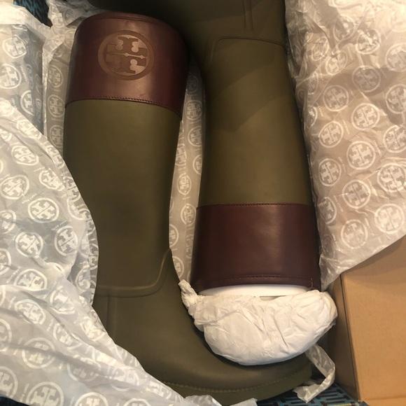 Tory Burch Shoes - Tory Burch Rainboots - Never Been Worn - Size 10